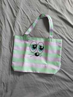 Candy Strip Lunch Tote Bag