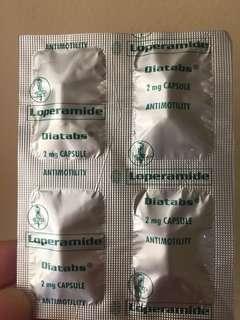 Diatabs Loperamide