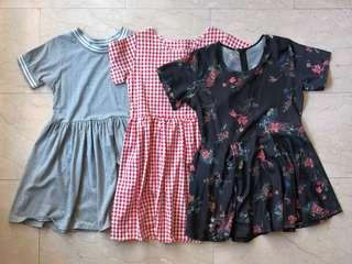 CLEARANCE BABYDOLL DRESSES