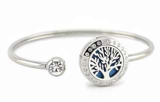 Essential oil diffuser bracelet stainless Steel