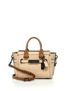 SPECIAL PRICE! Coach swagger in colorblock