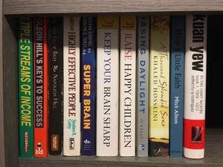 Novels / Fiction / Non-fiction(upd 8 Dec 18)