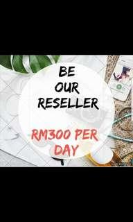 Be our reseller to boost your income