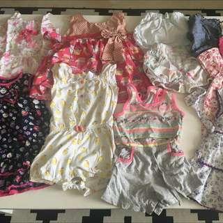 Toddler Girl Dress And Shorts