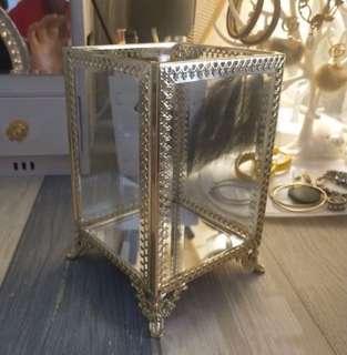 复古宫廷 玻璃化妝座連珍珠