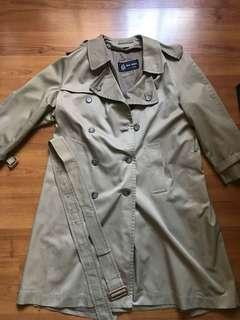 Men's khaki Trench coat