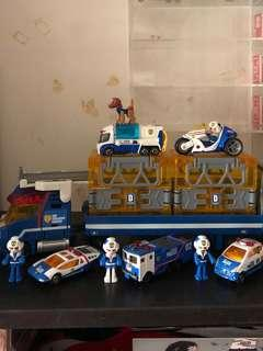 Tomica Hyper Blue Police limited edition set(bought from japan)