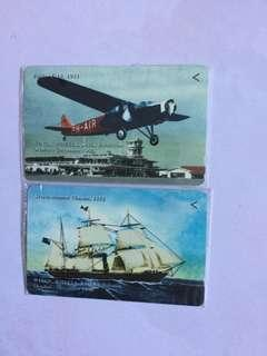 Vintage Phonecard (2 pcs)