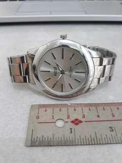 Ascot Stainless Steel Quartz Watch