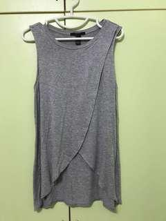 Forever 21 Grey Top (BL)