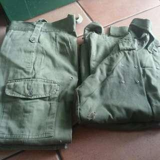 Old Army Uniforms