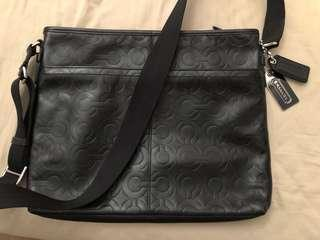 Like new Authentic leather COACH sling bag for sale!!