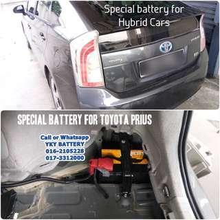 Kereta Bateri Hybrid Toyota Prius , Yuasa VRLA NS60ST
