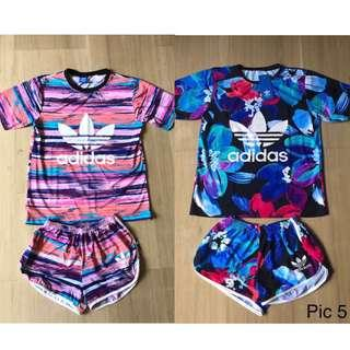 BNIP Adidas Top Bottom Set