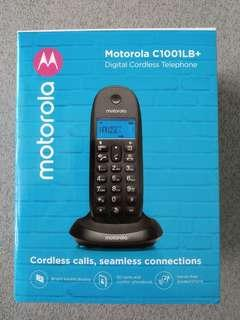 BNIB Motorola C1001LB+ Digital Cordless Phone for SALE!
