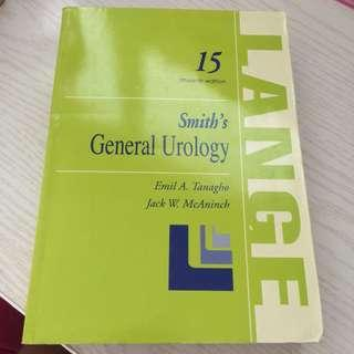 Smith's General Urology 15th Edition