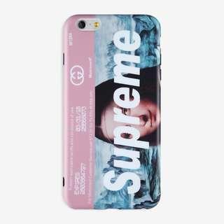 Mona Lisa Supreme IMD case Iphone 5 5s se 6 6 Plus 7 8 X