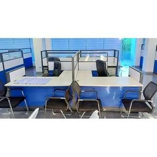 Christmas Promo!! Office Furniture. Office Partition