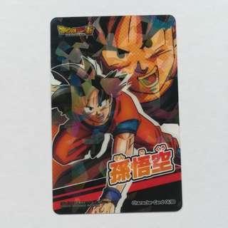 Dragon Ball Super - Son Goku - Clear Collection Card / Character Card