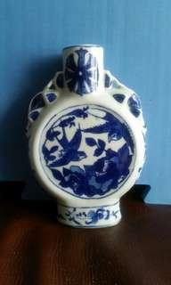 中古清花花瓶