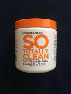 FORMULA 10.0.6 So Tottaly Clean Anti-Blemish Pads