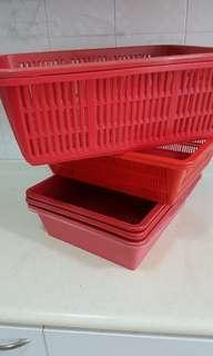 Red Hamper Baskets