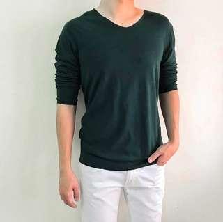 Asianbum, Super Comfy Plain Top, Green, Size XL