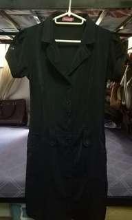 Black Bado Office Dress