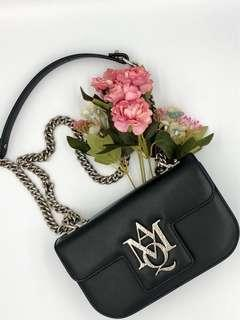 Rent Alexander McQueen Small Insignia Chain Satchel