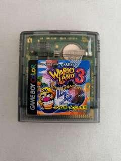 Gameboy Color Wario Land 3 Game Boy