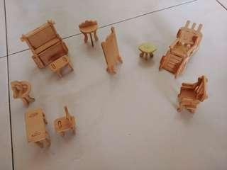 Wooden Toy Furnitures