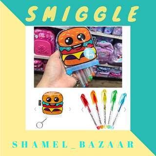 SMIGGLE Gel Pen Pack X5