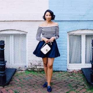 Stripes Terno Skirt