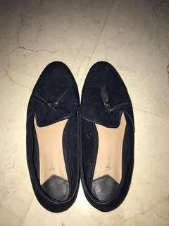 Slip on / flat shoes navy