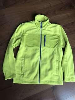 Yellow fleece jacket (XL)