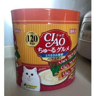 Ciao 海鮮味 120本