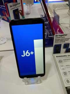 Samsung galaxy J6+ promo bunga 0% cicilan tanpa cc