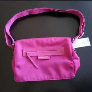 Longchamp Pink Messenger Le Pliage Neo 100% Authentic