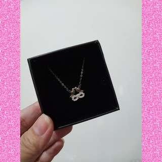 Two lovebirds Necklace