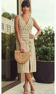 🐬Stripes Sleeveless dress