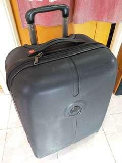 "France ~Delsey 行李箱 25"" 4 wheels rolling luggage"