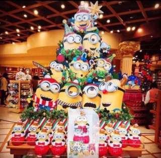 12月最後召集 設有門市 信心可靠 12月 買 聖誕禮物 又到 聖誕節 快人一步 大阪 代購 日本代購 全新 環球影城 usj minions 聖誕 爆谷筒 爆谷 bob 小黃人 迷你兵 獨角馬 限定 限量 糖果盒 聖誕 聖誕節