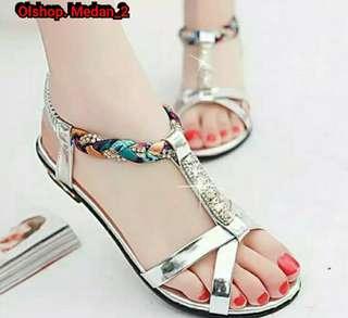 YP sandal flat terlaris