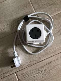 1.5m PowerCube Extended USB by allocacoc