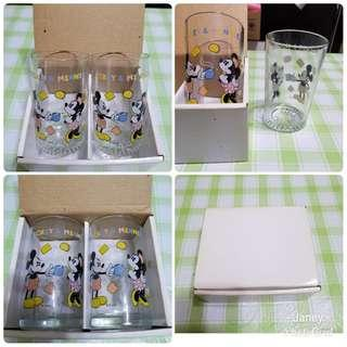 X'mas gift Mickey mouse Glass