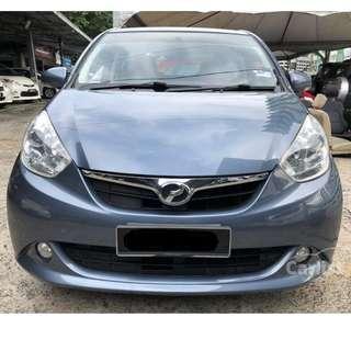 2012 Perodua Myvi 1.3 EZi (A) One Owner