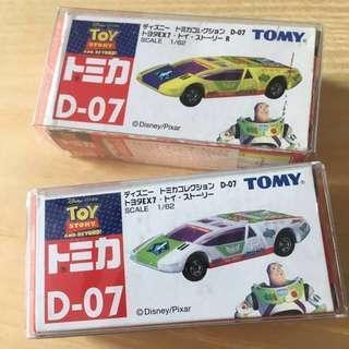 絕版Tomy Toy Story D-07 巴斯光年Set
