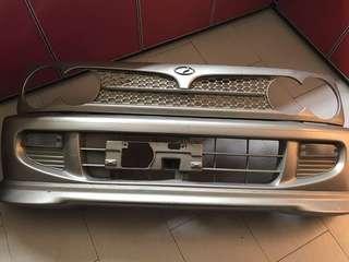Perodua Kelisa Kenari bumper grill