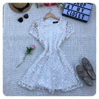 3D Embroidery Dress