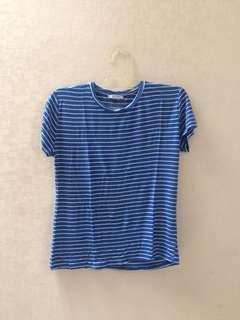 Zara blue stripes